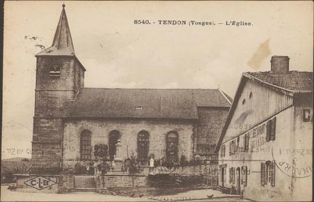 Tendon (Vosges), L'Église