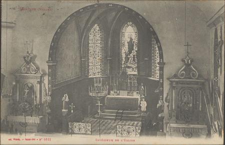 Tendon (Vosges), Intérieur de l'Église