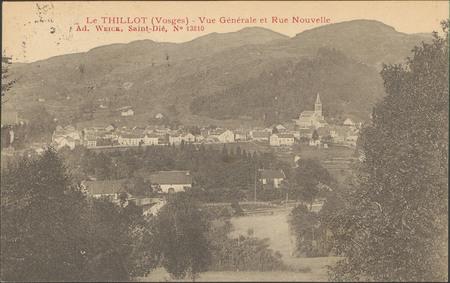 Le Thillot (Vosges), Vue générale et rue nouvelle