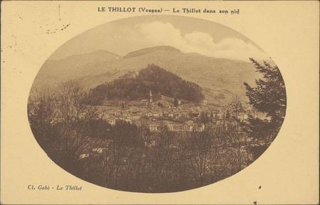 Le Thillot (Vosges), Le Thillot dans son nid