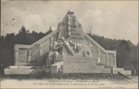 Le Thillot (Vosges), Monument aux morts […]