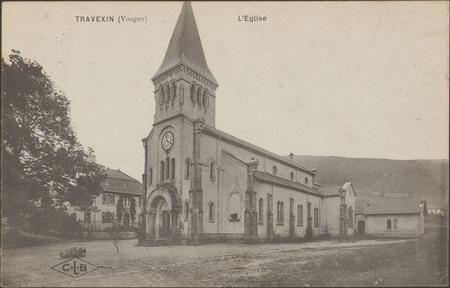 Travexin (Vosges), L'Église