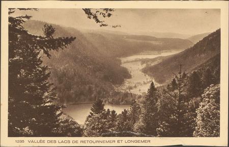 Vallée des lacs de Retournemer et Longemer