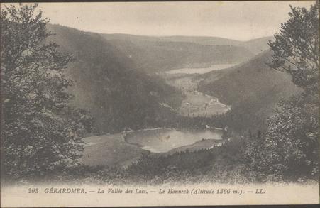Gérardmer, La Vallée des lacs, Le Hohneck (altitude 1366 m.)
