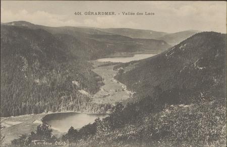 Gérardmer, Vallée des lacs
