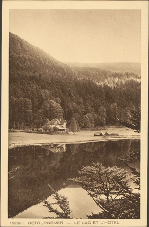Retournemer, Le Lac et l'Hôtel