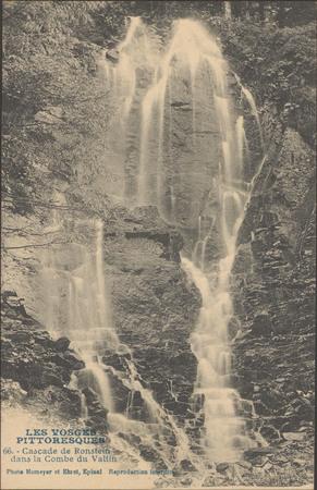 Cascade de Ronstein dans la Combe du Valtin