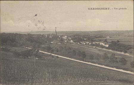 Vaxoncourt, Vue générale