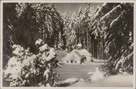 [Chapelle du Frère Joseph en hiver]