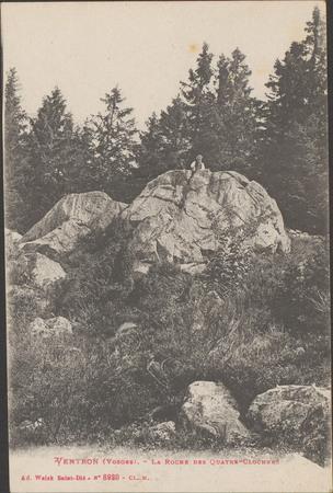 Ventron (Vosges), La Roche des Quatre-Clochers
