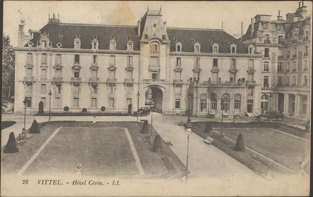 Vittel, Hôtel Cérès