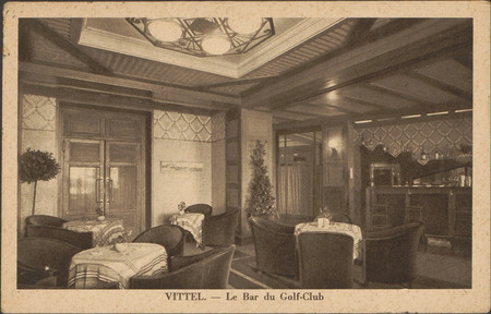 Vittel, Le Bar du Golf-Club