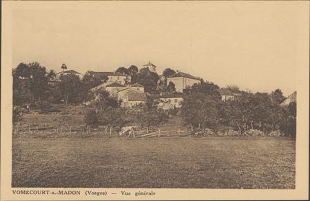Vomécourt-s.-Madon (Vosges), Vue générale