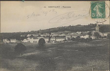 Xertigny, Panorama
