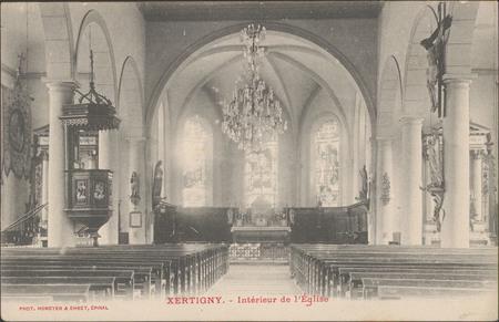 Xertigny, Intérieur de l'Église