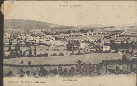 Corcieux (Vosges), Les Casernes