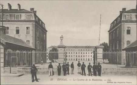 Épinal, La Caserne de la Madeleine