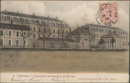 Épinal, Casernes Bonnard à la Vierge