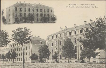 Épinal, Quartier de Reffye (8e Bataillon d'Artillerie à pied), La Cour