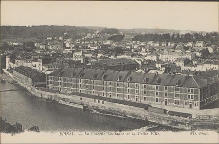 Épinal, La Caserne Contades et la petite ville