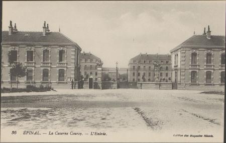 Épinal, La Caserne Courcy, L'Entrée