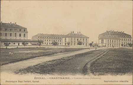 Épinal, Chantraine, Casernes Courcy (Infanterie)