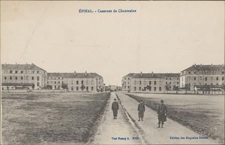 Épinal, Casernes de Chantraine