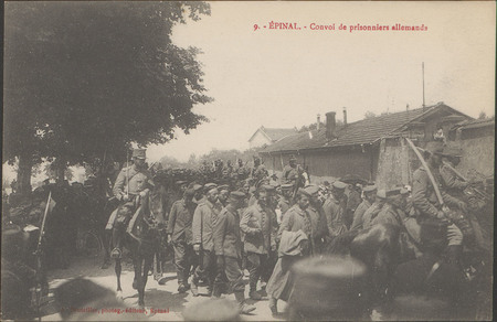 Épinal, Convoi de prisonniers allemands