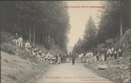 Gérardmer, L'École des clairons du 152e