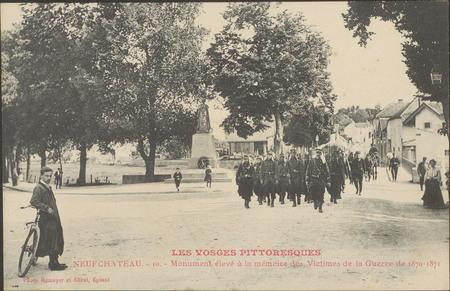 NeufChâteau, Monument élevé à la mémoire des Victime de la Guerre de 1870-…