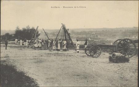 Artillerie, Manœuvre de la Chèvre
