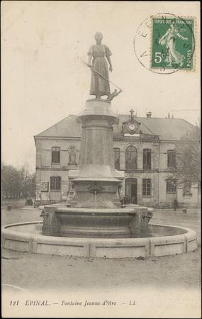 Épinal, Fontaine Jeanne d'Arc