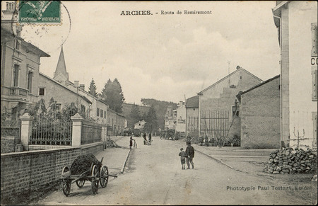 Arches, Route de Remiremont