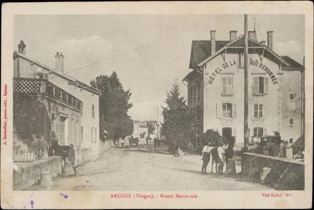 Arches (Vosges), Route nationale