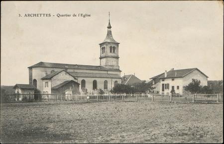 Archettes, Quartier de l'Église