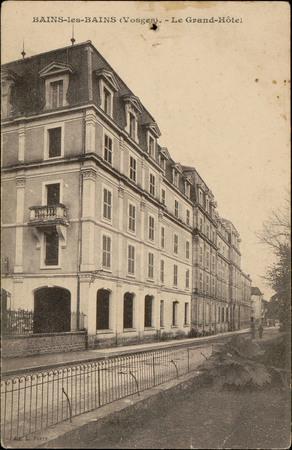 Bains-les-Bains (Vosges), Le Grand-Hôtel