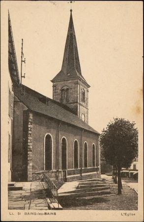 Bains-les-Bains, L'Église