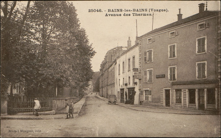 Bains-les-Bains (Vosges), Avenue des Thermes
