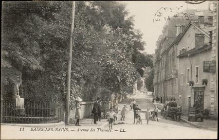 Bains-les-Bains, Avenue des Thermes