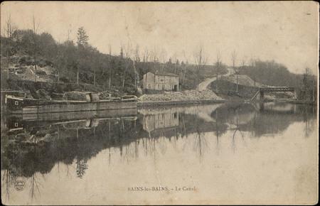 Bains-les-Bains, Le Canal