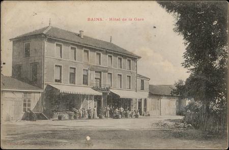 Bains, Hôtel de la Gare