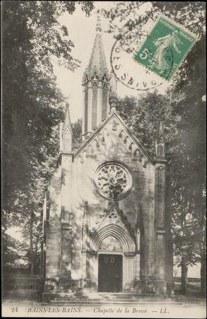Bains-les-Bains, Chapelle de la Brosse