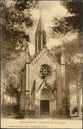 Bains-les-Bains, Chapelle N.-D. de la Brosse
