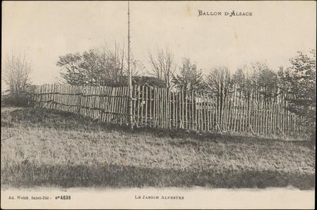 Ballon d'Alsace, Le Jardin Alpestre