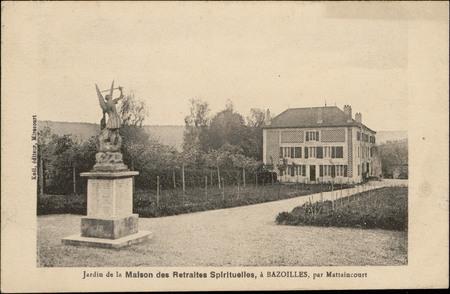 Jardin de la maison des Retraites spirituelles, à Bazoilles par Mattaincou…