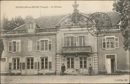 Bazoilles-sur-Meuse (Vosges), Le Château