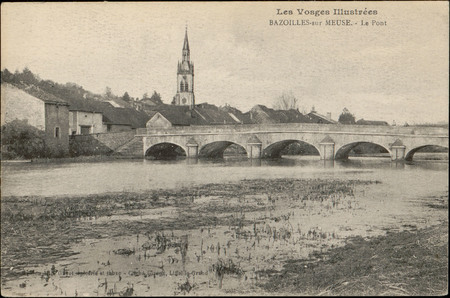 Bazoilles-sur-Meuse (Vosges), Le Pont