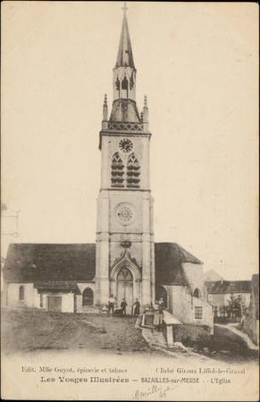 Bazailles-sur-Meuse, L'Église