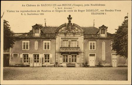 """Au Château de Bazoilles-sur-Meuse (Vosges), près NeufChâteau, """"L'Art Ancie…"""