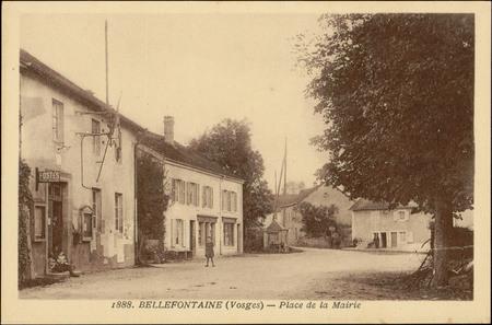 Bellefontaine (Vosges), Place de la Mairie